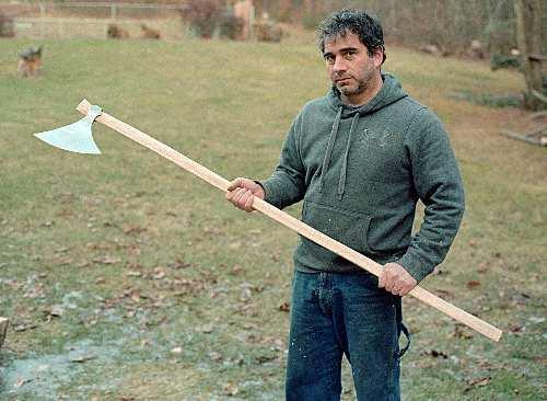 Hurstwic: Riving, a Viking-age woodworking technique