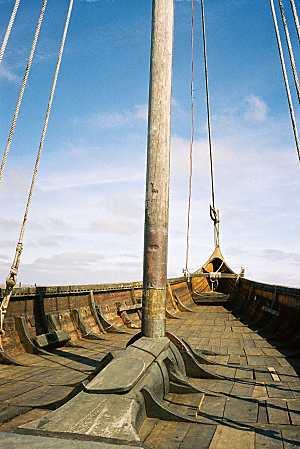 Hurstwic viking ships keelson or mastfish sciox Gallery