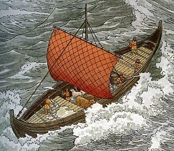La littérature chrétienne au Moyen-Âge – Anglo-Saxonne – Allemagne – France (extraits et images) Knorr_sketch