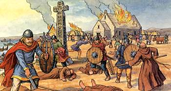 A Great Famine Immediately Followed These Signs And Little After That In The Same Year On 8 June Ravages Of Heathen Men Miserably Destroyed Gods